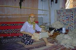Плетение ковров